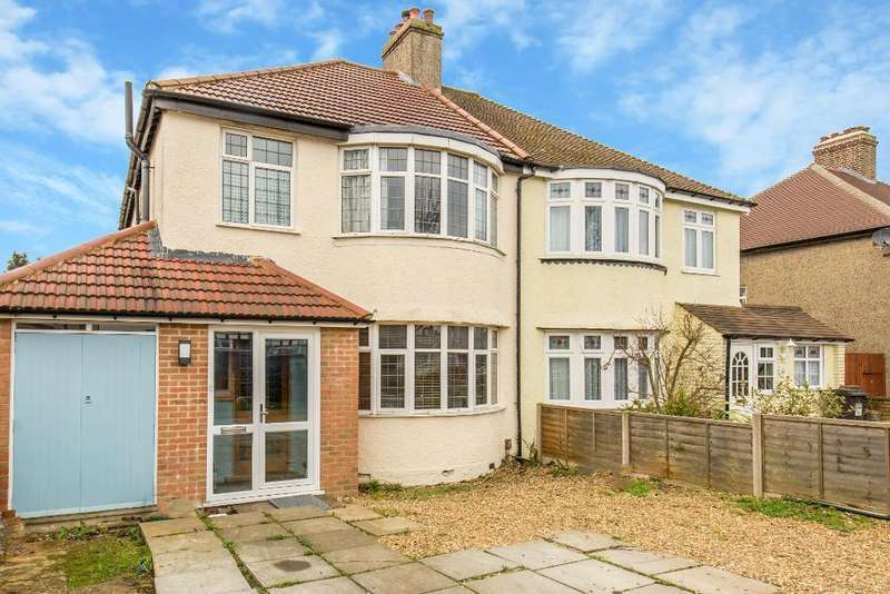 4 Bedrooms Semi Detached House for sale in Limpsfield Road, Sanderstead, Surrey, CR2 9DD