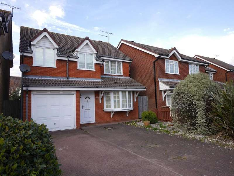 4 Bedrooms Detached House for sale in Fletchers Lane, Kesgrave, Ipswich