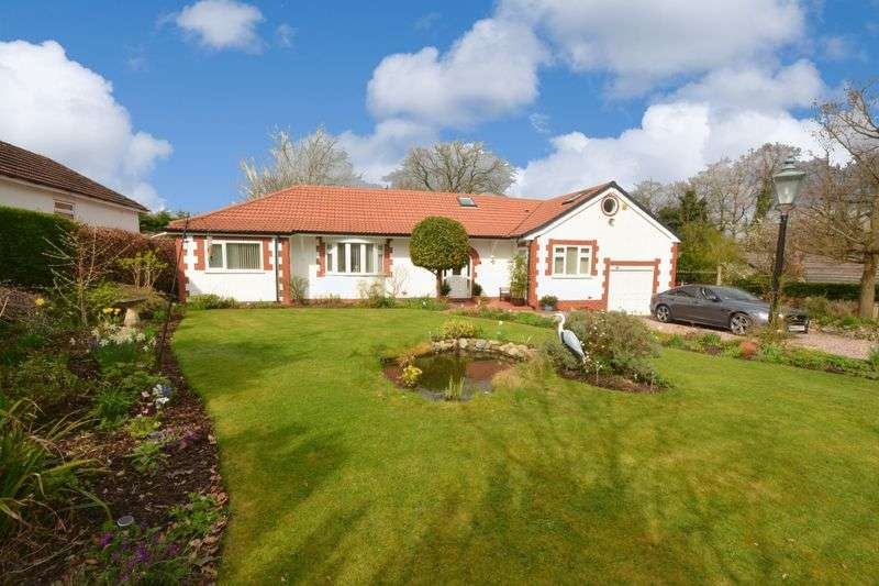 4 Bedrooms Detached Bungalow for sale in Yew Tree Grove, Heald Green, Cheadle
