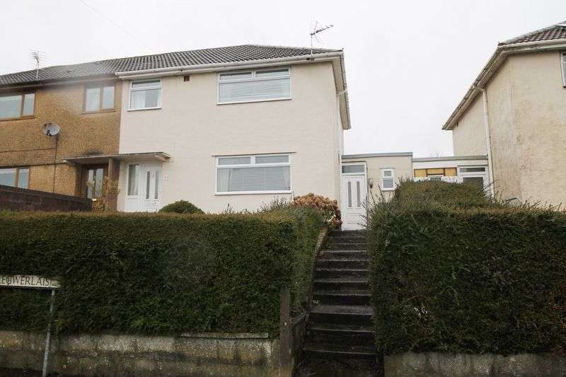 3 Bedrooms Semi Detached House for sale in Caer Gwerlas, Tonyrefail, CF398HY