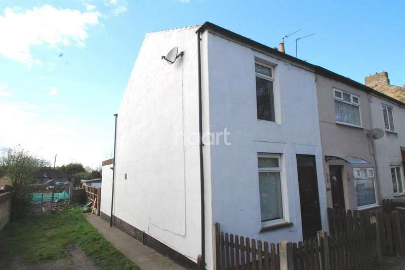 2 Bedrooms End Of Terrace House for sale in Sleaford Road, Bracebridge Heath, Lincoln, LN4