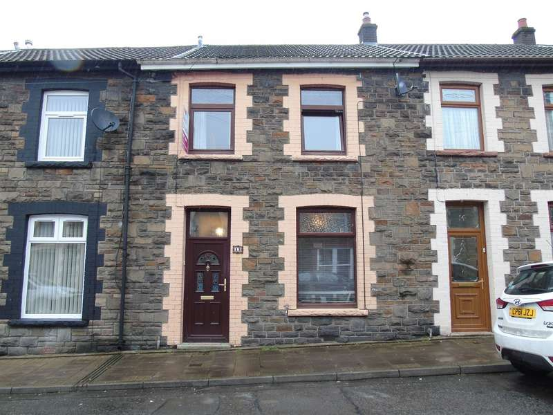 2 Bedrooms Terraced House for sale in New Century Street, Tonypandy