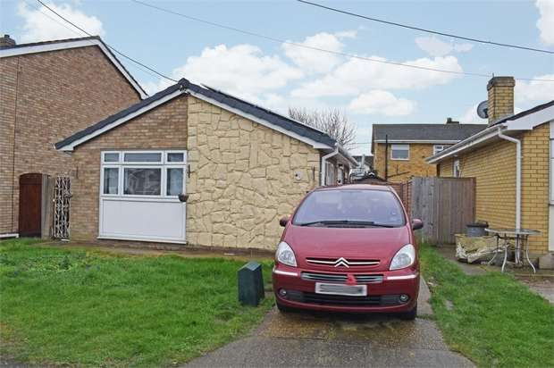 2 Bedrooms Detached Bungalow for sale in Hallet Road, Canvey Island, Essex