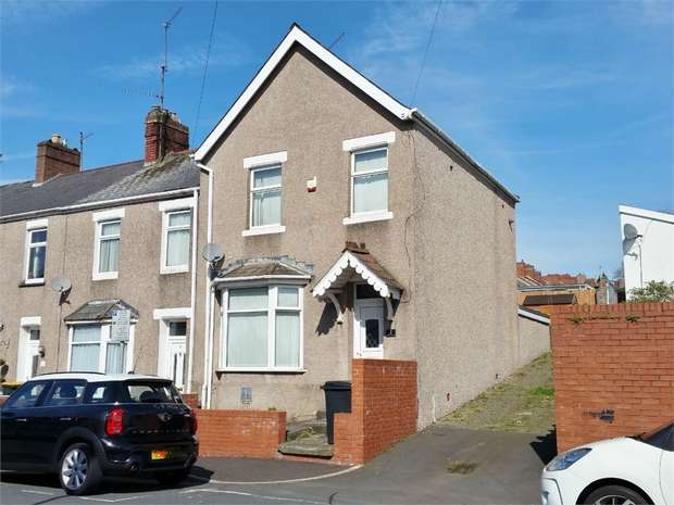3 Bedrooms End Of Terrace House for sale in Gaer Street, NEWPORT