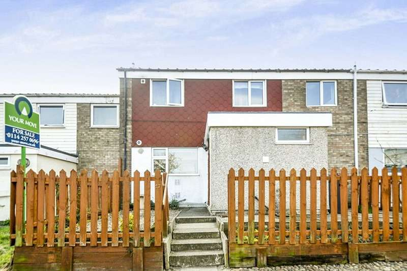 3 Bedrooms Property for sale in Carlthorpe Grove, High Green, Sheffield, S35