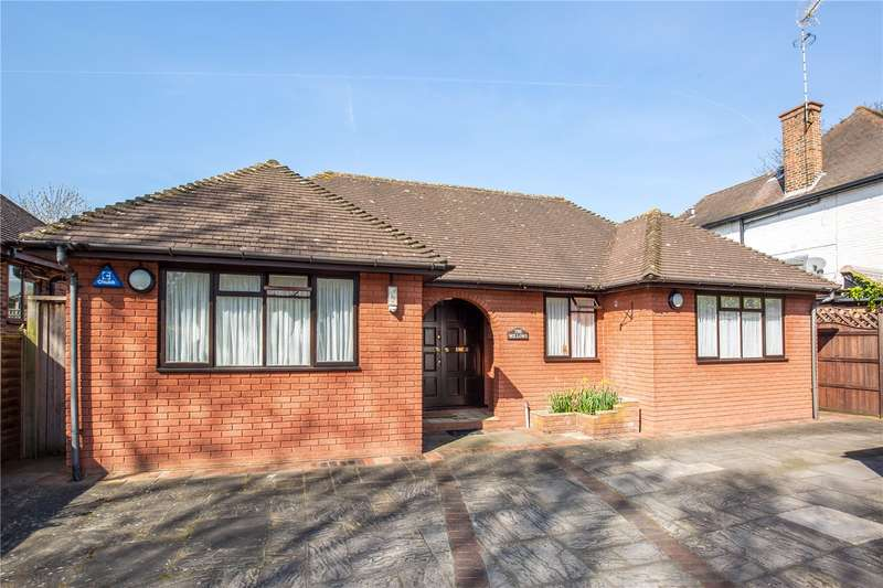 4 Bedrooms Detached Bungalow for sale in Milespit Hill, Mill Hill, London, NW7
