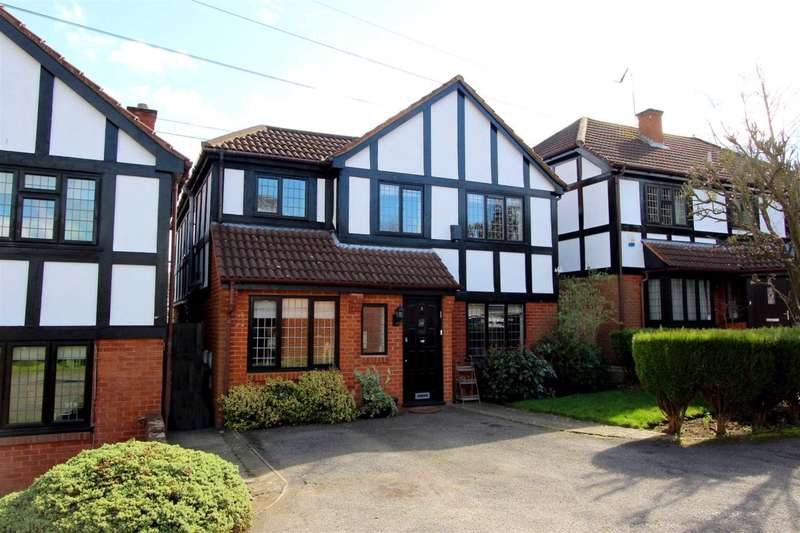 4 Bedrooms Detached House for sale in Albany Close, Bushey