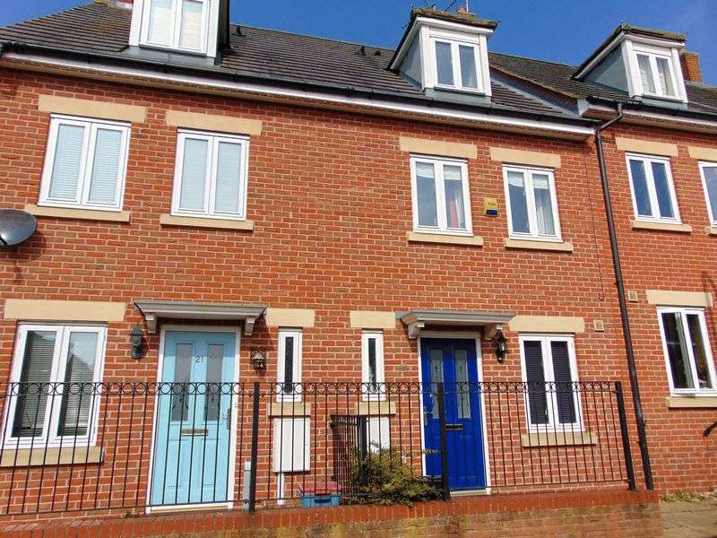 3 Bedrooms Terraced House for sale in Packwood Close, Daventry, NN11 8AJ