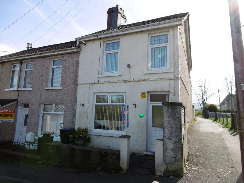 3 Bedrooms End Of Terrace House for sale in John Street, Ebbw Vale, Blaenau Gwent.