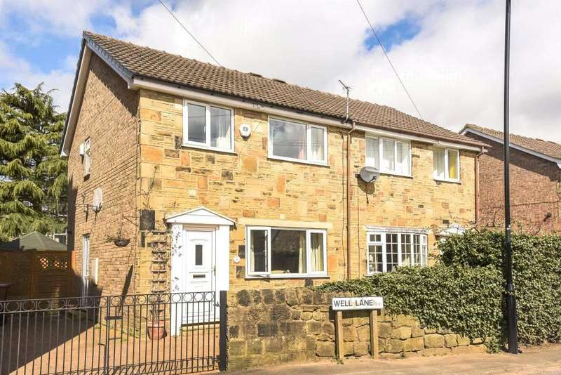 3 Bedrooms Semi Detached House for sale in Well Lane, Guiseley, Leeds, West Yorkshire