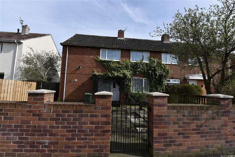 3 Bedrooms Semi Detached House for sale in Wrekenton