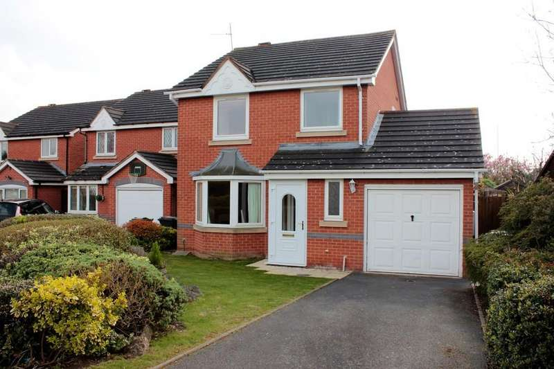 3 Bedrooms Detached House for sale in Squirrel Way, Loughborough
