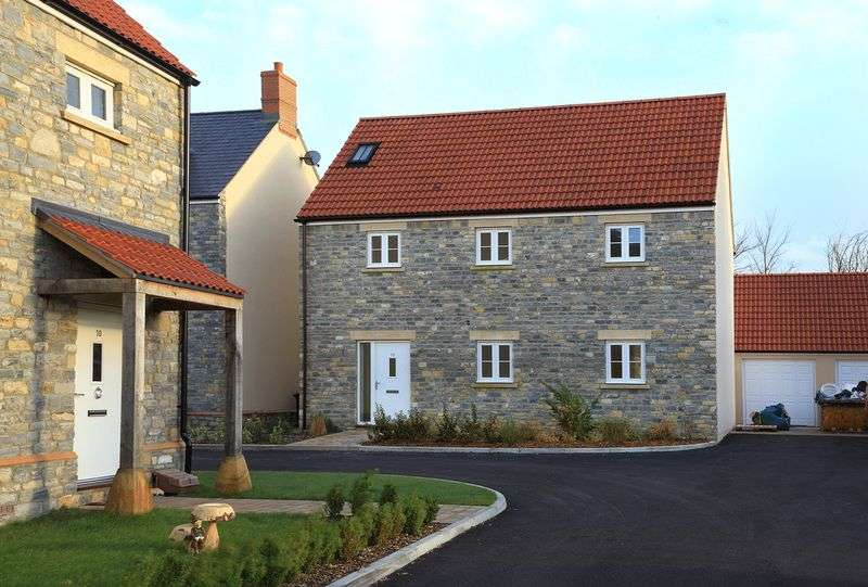 4 Bedrooms Detached House for sale in Butleigh, Somerset