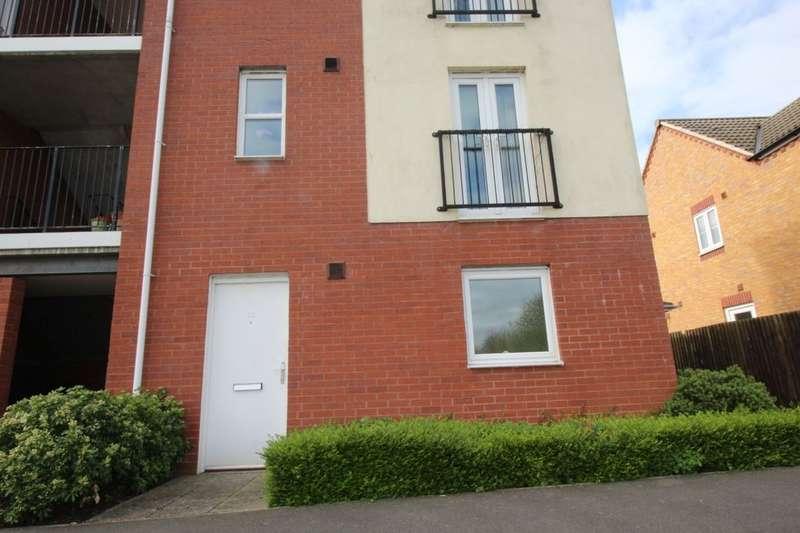 1 Bedroom Flat for sale in Humber Street, Hilton, Derby, DE65