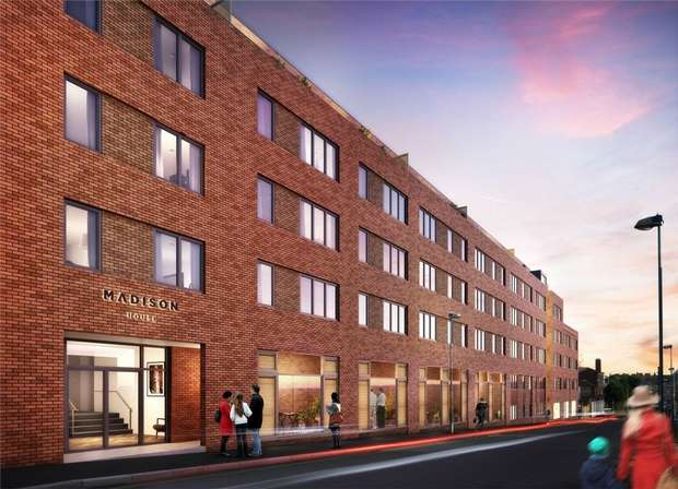 1 Bedroom Flat for sale in Madison House, Birmingham, West Midlands