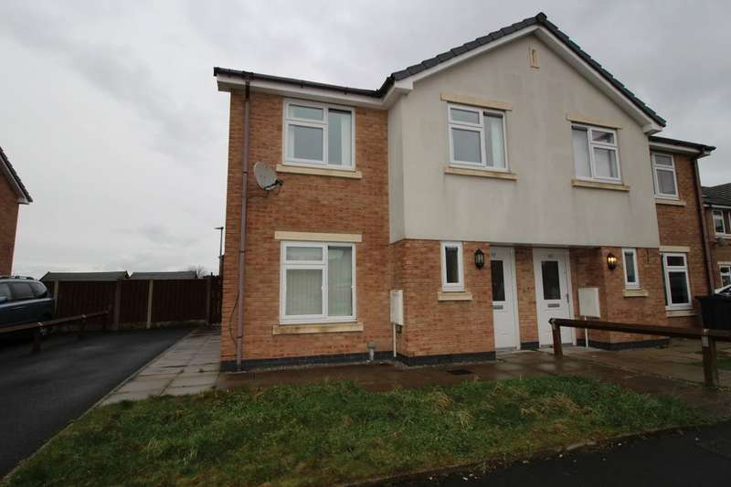 3 Bedrooms Semi Detached House for sale in Brookway, Blackburn, BB2