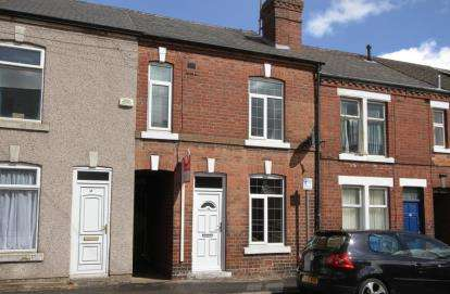 2 Bedrooms Terraced House for sale in Hardwick Street, Chesterfield, Derbyshire