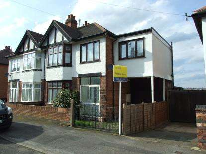 4 Bedrooms Semi Detached House for sale in Exton Road, Nottingham, Nottinghamshire