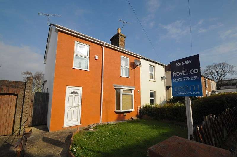 3 Bedrooms Semi Detached House for sale in Denmark Road, Heckford Park, Poole
