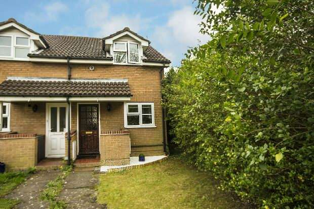 1 Bedroom End Of Terrace House for sale in Notton Way, Lower Earley, Reading,