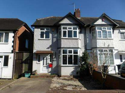 3 Bedrooms Semi Detached House for sale in Springfield Road, Moseley, Birmingham, West Midlands