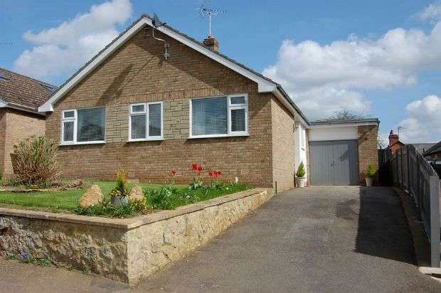 3 Bedrooms Detached Bungalow for sale in Scott Close, Ravensthorpe, Northampton NN6 8EA