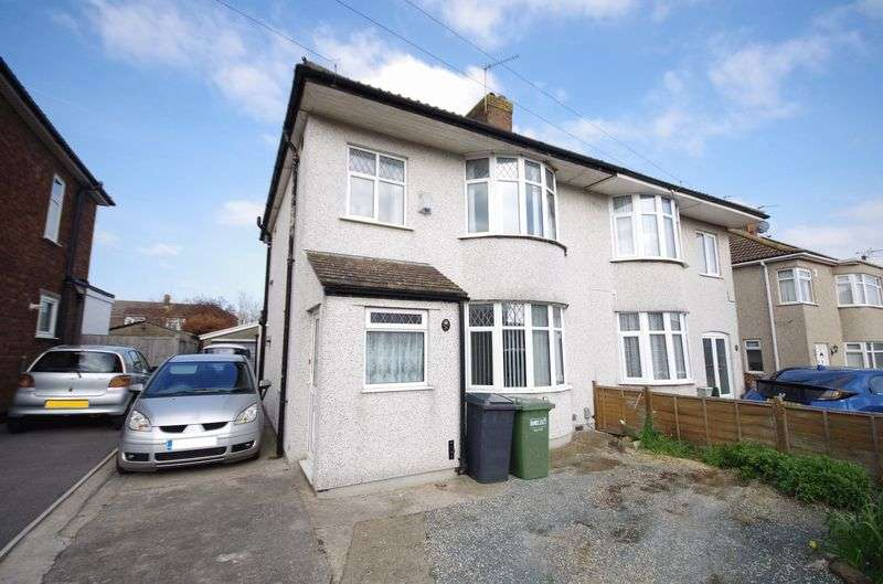 3 Bedrooms Semi Detached House for sale in Callicroft Road, Bristol