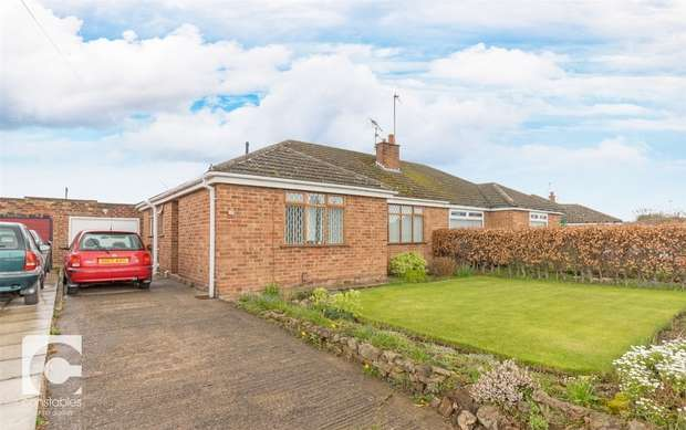 2 Bedrooms Semi Detached Bungalow for sale in Blackeys Lane, Neston, Cheshire