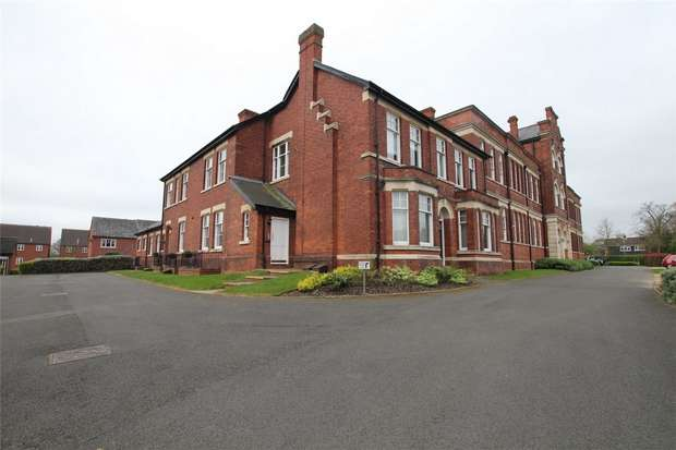 3 Bedrooms Flat for sale in Friary House, Patrick Mews, Lichfield, Staffordshire