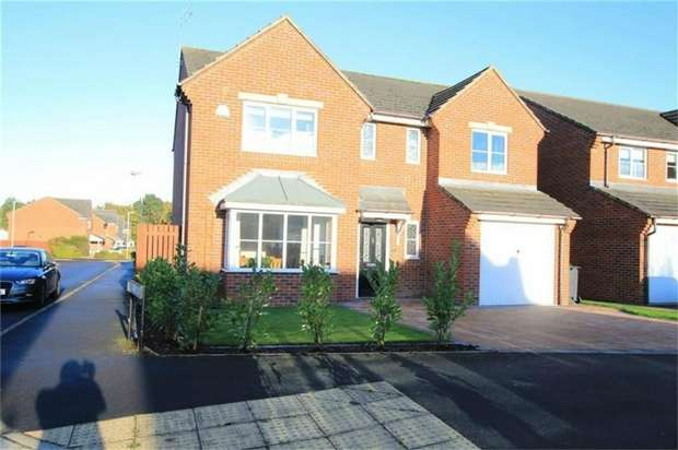 4 Bedrooms Detached House for sale in Hawthorn Drive, School Aycliffe, Newton Aycliffe, Durham