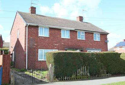 3 Bedrooms Semi Detached House for sale in North Road, Calow, Chesterfield, Derbyshire