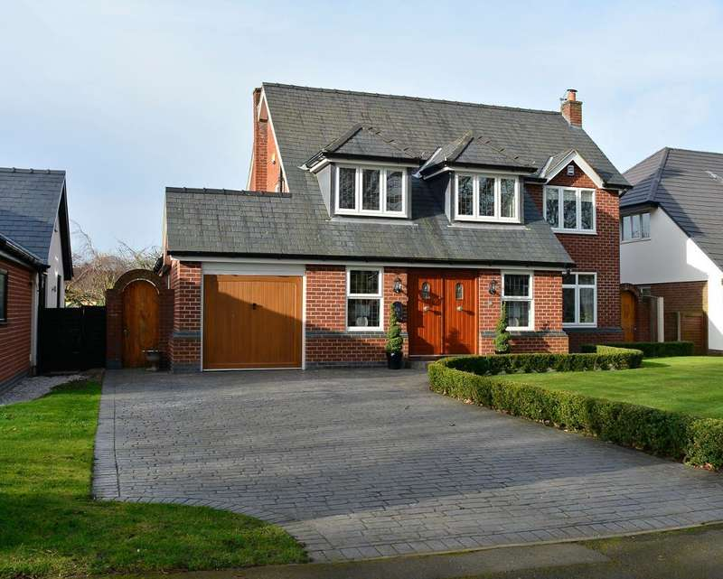 5 Bedrooms Detached House for sale in Culcheth Hall Drive, Culcheth, Warrington, Cheshire, WA3 4PT