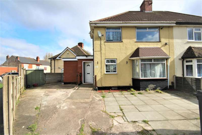 3 Bedrooms Semi Detached House for sale in Church Road, Smethwick, B67 6EH