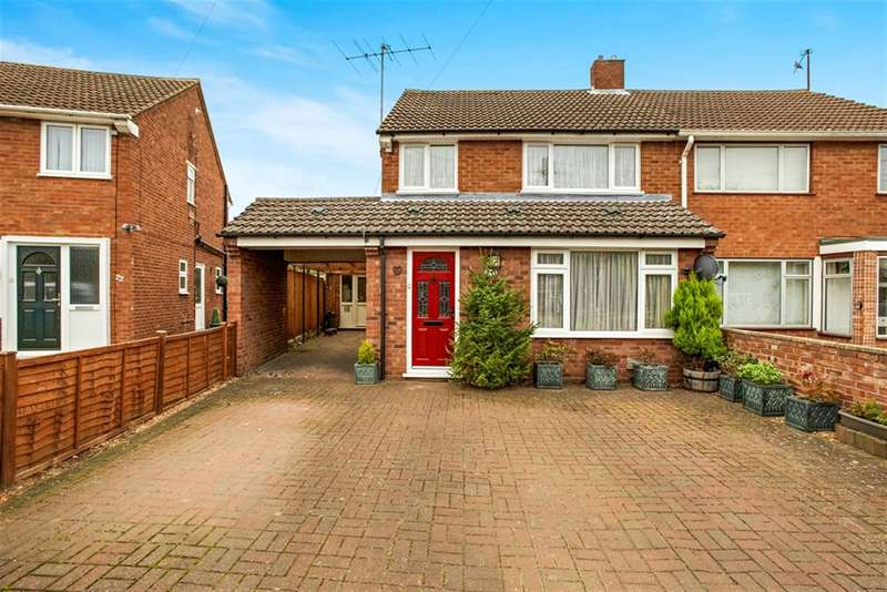 3 Bedrooms Semi Detached House for sale in Woodland Drive, Bromham, Bedford, MK43