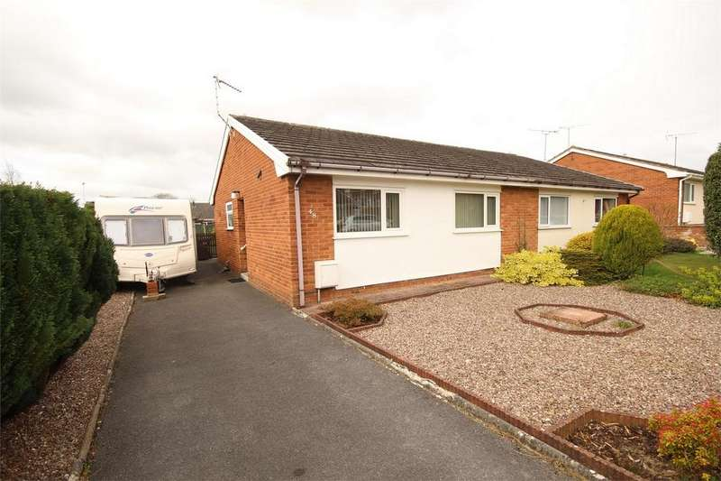 2 Bedrooms Semi Detached Bungalow for sale in Mayfield Drive, Buckley, Flintshire