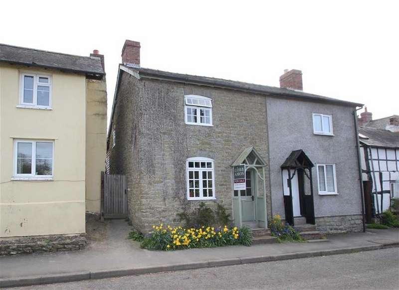 3 Bedrooms Semi Detached House for sale in Watling Street, Leintwardine, Shropshire