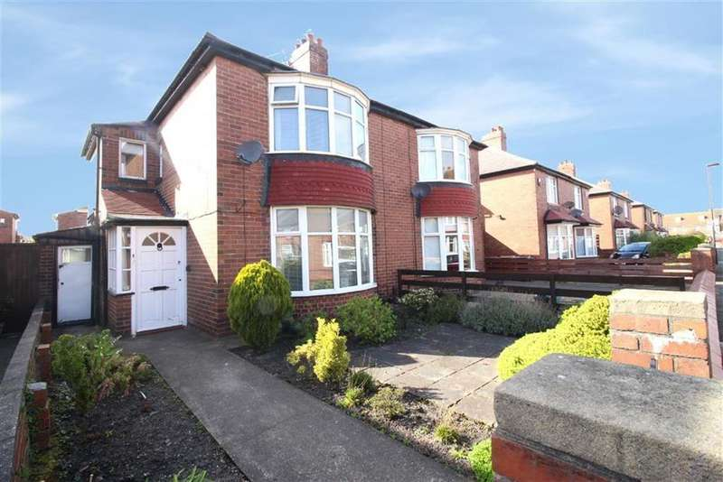 2 Bedrooms Semi Detached House for sale in Grasmere Road, Wallsend, NE28