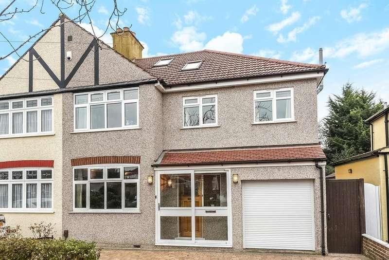 4 Bedrooms Semi Detached House for sale in Croft Avenue, West Wickham, BR4