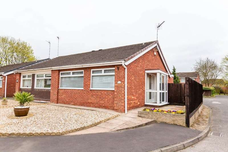 2 Bedrooms Semi Detached Bungalow for sale in Brinklow Road, Binley, Coventry