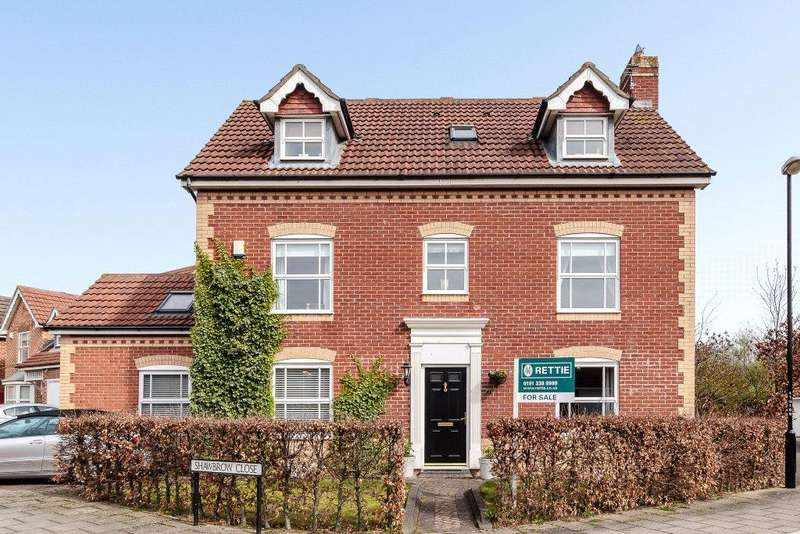 5 Bedrooms Detached House for sale in Shawbrow Close, Haydon Grange, Newcastle Upon Tyne, Tyne Wear