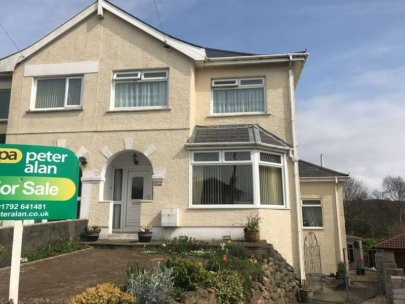5 Bedrooms Semi Detached House for sale in Lon Mafon, Sketty, Swansea