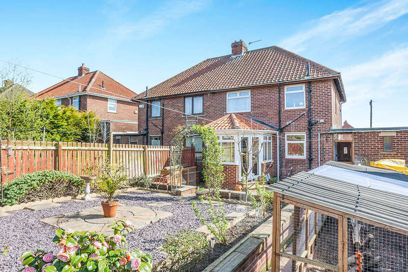 3 Bedrooms Semi Detached House for sale in Parkhead Gardens, BLAYDON-ON-TYNE, NE21
