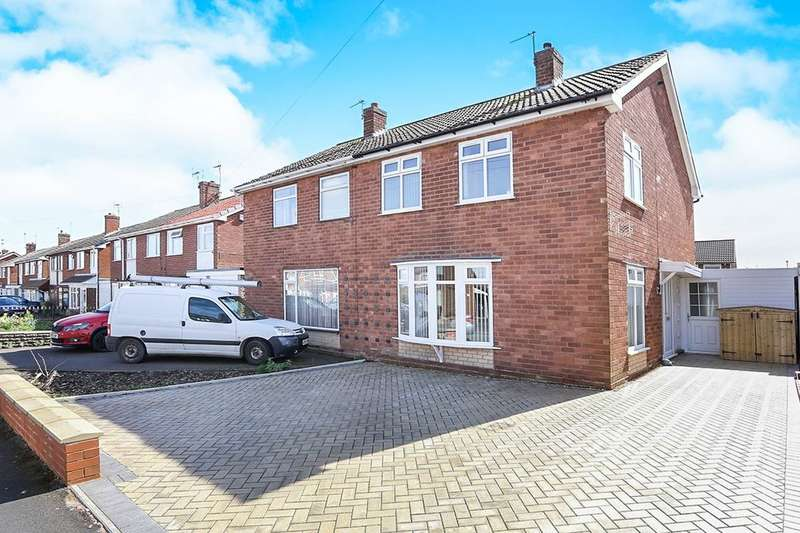 3 Bedrooms Semi Detached House for sale in Lime Tree Gardens, Codsall, Wolverhampton, WV8