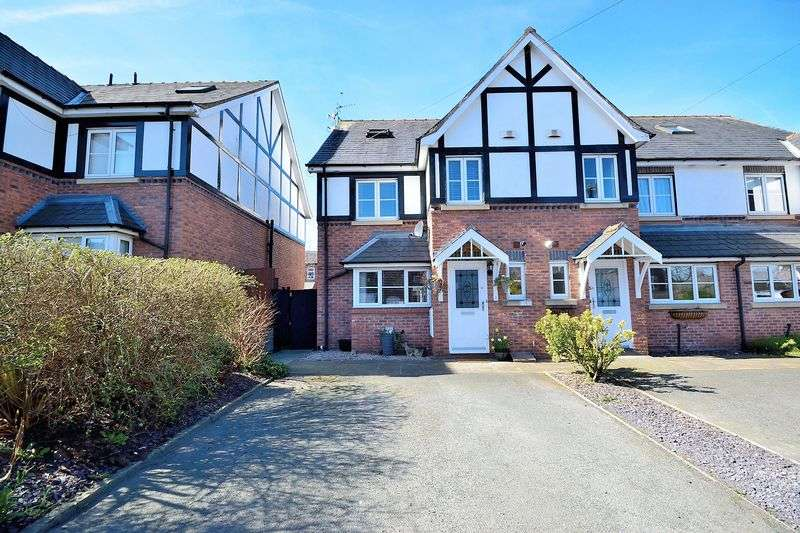 4 Bedrooms House for sale in Bramley Mews, Stockton Heath, WA4 6PR