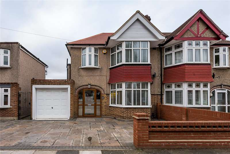 3 Bedrooms Semi Detached House for sale in Montrose Avenue, Twickenham, TW2