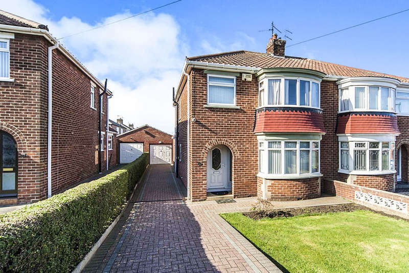 3 Bedrooms Semi Detached House for sale in Grasmere Drive, Middlesbrough, TS6