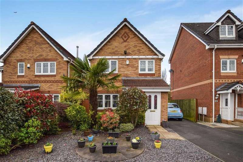3 Bedrooms Detached House for sale in Sandywarps, Manchester