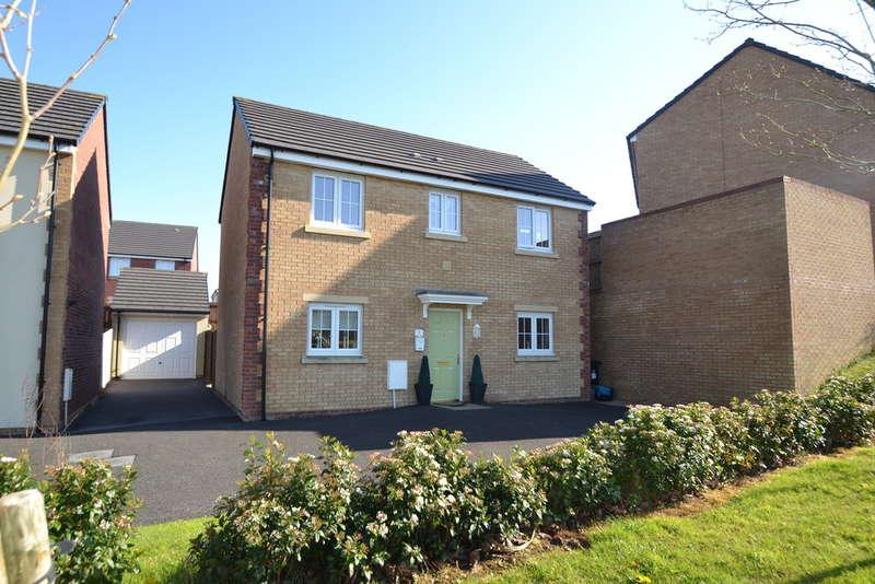 3 Bedrooms Detached House for sale in 5 Heol Blandy, Broadlands, Bridgend, Bridgend County Borough, CF31 5FN.