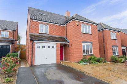 5 Bedrooms Detached House for sale in The Paddock, Curdworth, Sutton Coldfield, Warwickshire