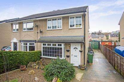 3 Bedrooms Semi Detached House for sale in Broad Oaks Close, Dewsbury, West Yorkshire